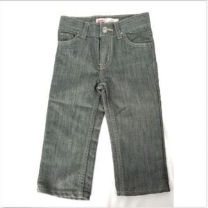 Levis 514 Straight Baby Boy 24 Months Black Jeans